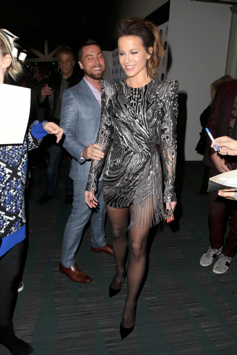 Kate Beckinsale LA Art Show galasında