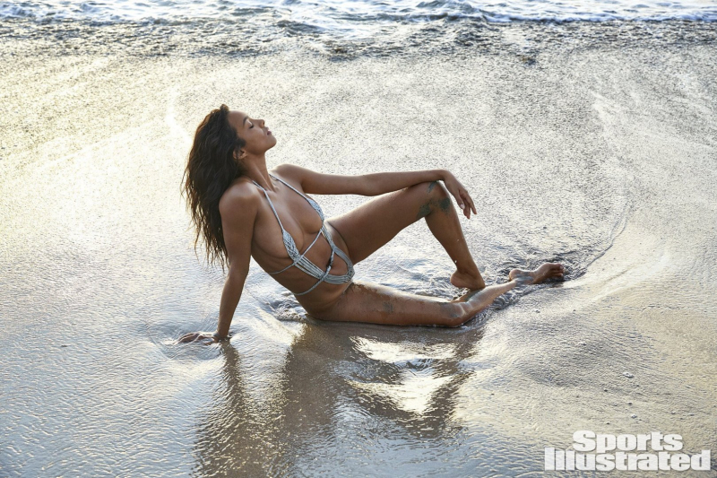 Lais Ribeiro 2019 Sports Illustrated mayo çekimlerinde