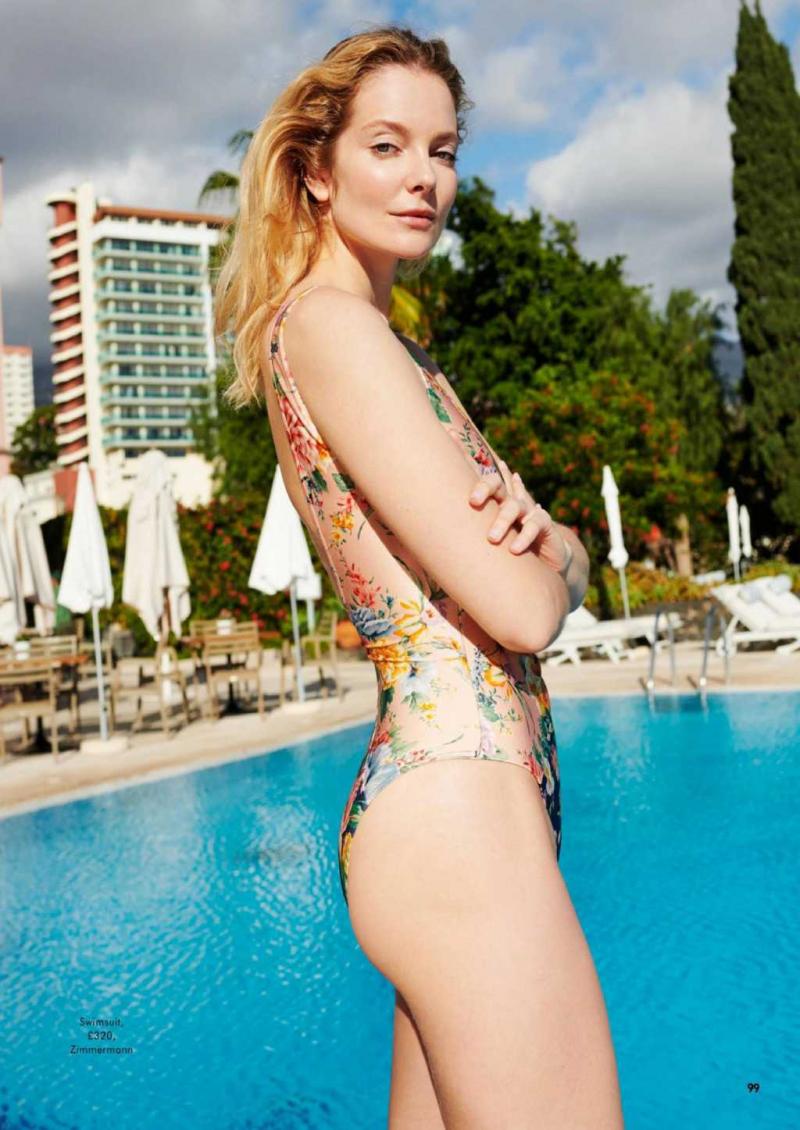 Eniko Mihalik Cosmopolitan Magazin çekimlerinde