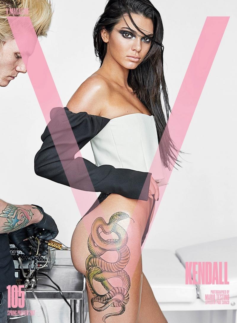 Kendall Jenner – V Magazin çekimleri