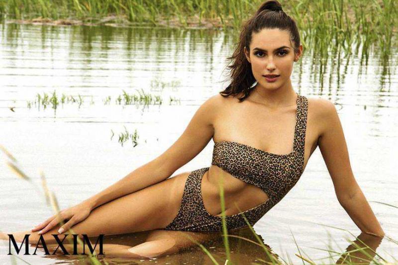 Tao Wickrath Maxim Meksika Magazin çekimlerinde