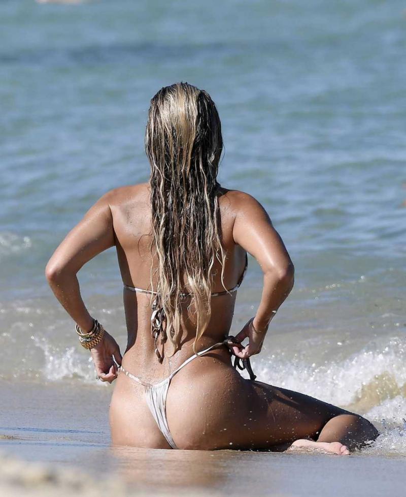 Sylvie Meis eşiyle tatilde
