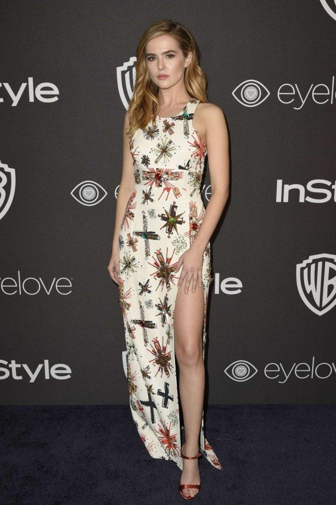 Zoey Deutch – Warner Bros Golden Globes etkinliği