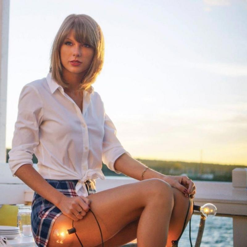 Taylor Swift Keds Çekimleri