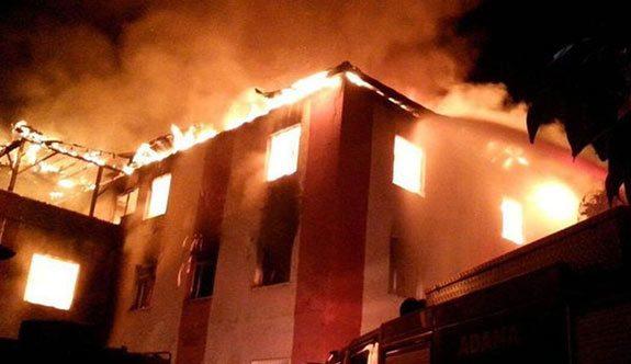 11 öğrencinin öldüğü yurt yangınında 4 Süleymancı tahliye edildi