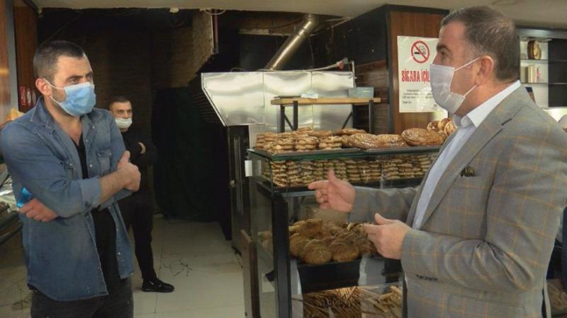 2 liraya ekmek satanlara ceza kesildi