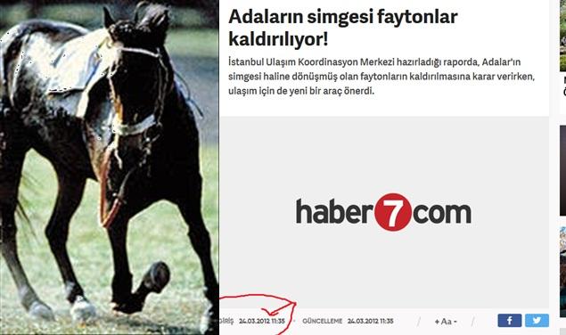 2012 yılında da faytonların kaldırılacağı açıklanmıştı! Fayton iddiası seçim vaadi mi?