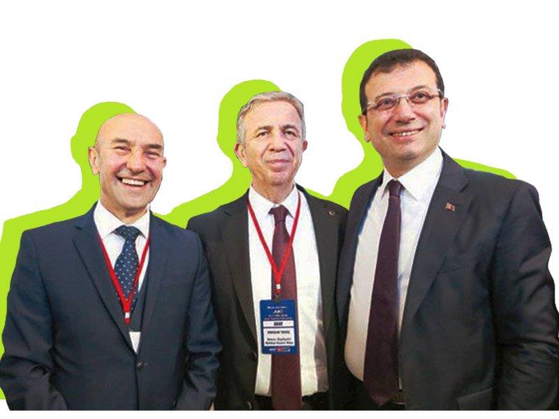 25 yılın ardından Türkiye'nin üç büyük ilinde yönetim sosyal demokratlara geçti