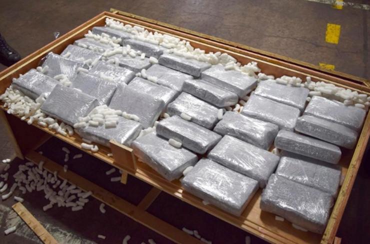 28 kilo kokain yanlış ülkeye yollandı!