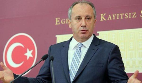 4 partinin ittifak kararına CHP'li Muharrem İnce'den ilk değerlendirme