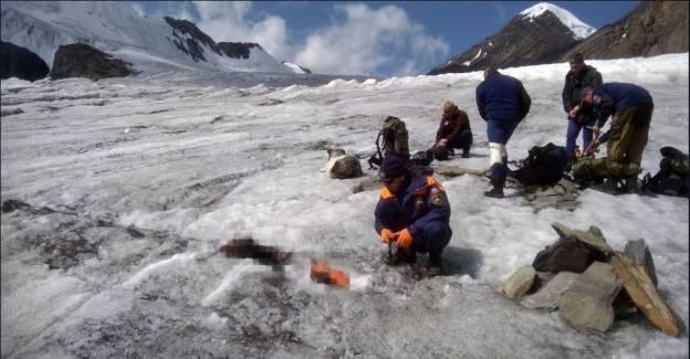 4 yıl önce kaybolan dağcının cesedi buzullardan çıktı