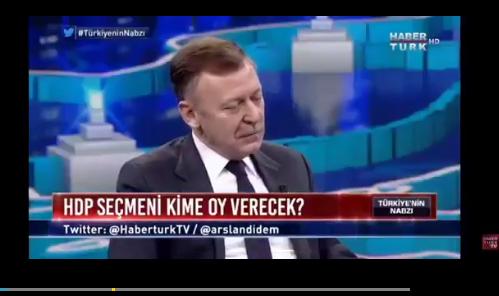 7 kişi HDP'yi konuşuyoruz, burada bir tane HDP'li yok