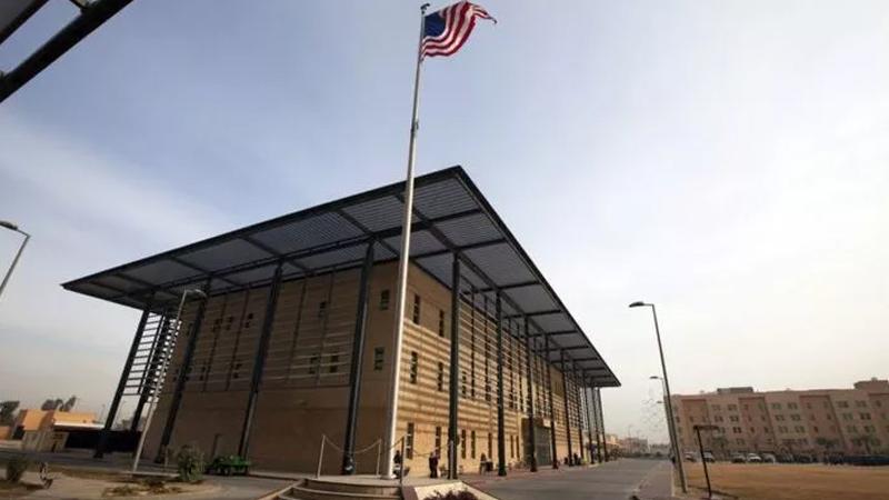 ABD Büyükelçiliği'nin bulunduğu bölgeye füzeli saldırı