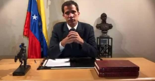 ABD'nin emrindeki Guiado, Venezuela'da darbe için askere ve halka çağrı yaptı