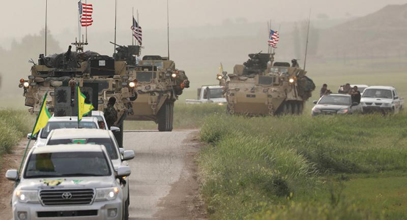 ABD medyası: ABD, YPG'ye Türkiye operasyonuna karşı hazırlık eğitimi verdi