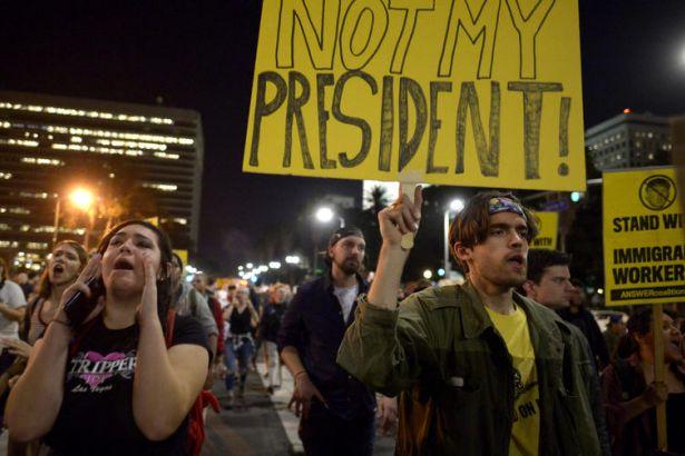 ABD'de Trump karşıtı eylemler devam ediyor