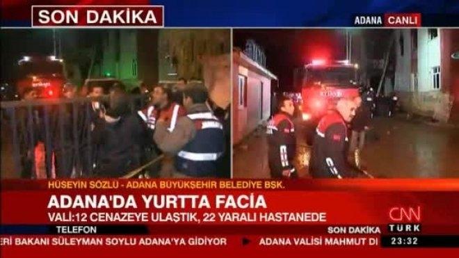 Adana Belediye Başkanı'ndan yangını soran Nedim Şener'e: Hovarda bir üslubunuz var!