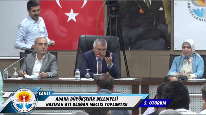 Adana Büyükşehir Belediye Başkanı Karalar'dan AKP Grup Başkanvekili'ne: Niye ters ters bakıyon, hayrola?