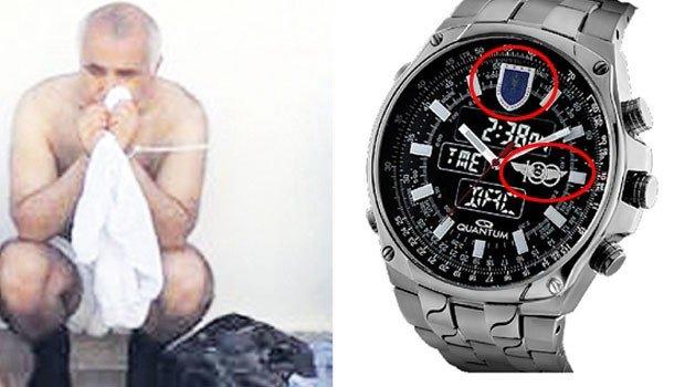 Adil Öksüz'ün kol saati dikkat çekti!