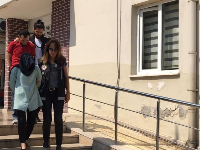 Adliye çalışanı uyuşturucu baskınında gözaltına alındı