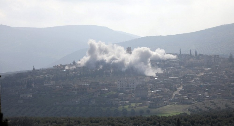 Afrin'de patlama: Ölü ve yaralılar var