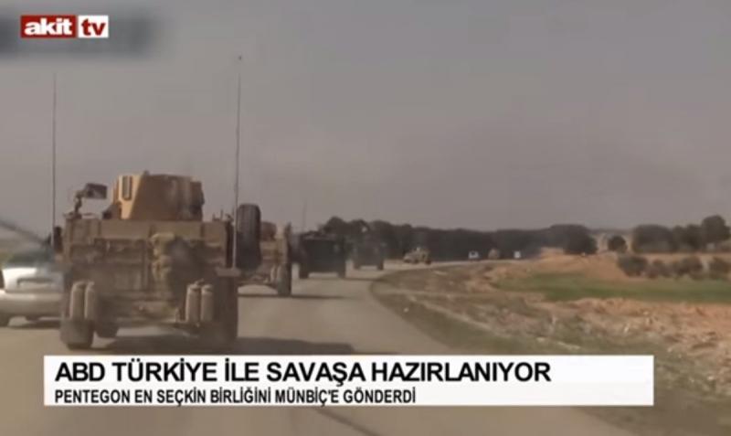 Akit TV: ABD, Türkiye ile savaşa hazırlanıyor!