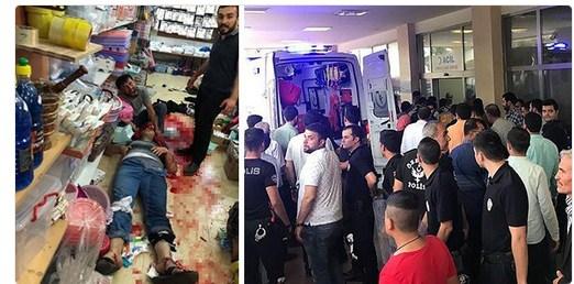 AKP-DBP kavgasında 5 ölü, çok sayıda yaralı!