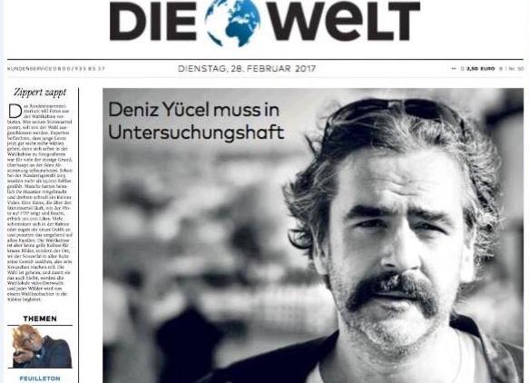 Alman gazete, muhabirinin Türkiye'de tutuklanmasını manşete taşıdı