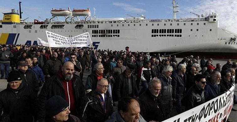 Almanlar Yunan adalarında mahsur kaldı