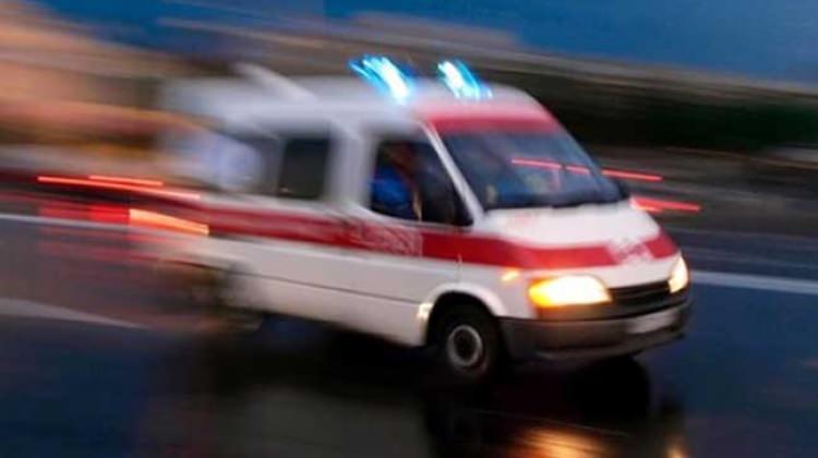 Ambulansta oksijen tüpü patladı, hasta yanarak öldü!