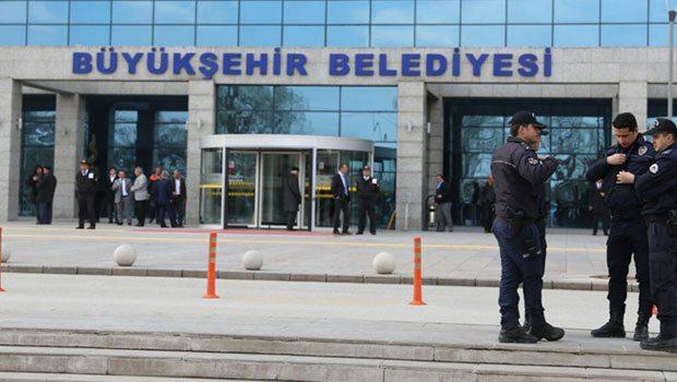 Ankara Büyükşehir Belediyesi'ne operasyon