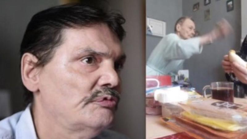 Anne şiddetinden bıktığını söyleyen 57 yaşındaki adam açlık grevine başladı