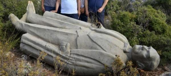 Antalya'da çalılara atılan Atatürk anıtıyla ilgili gelişme!