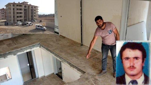 Apartman boşluğuna düşen işçi hayatını kaybetti!