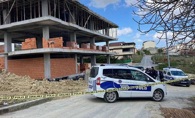 Arnavutköy'de inşaatın 2. katından düşen işçi yaşamını yitirdi
