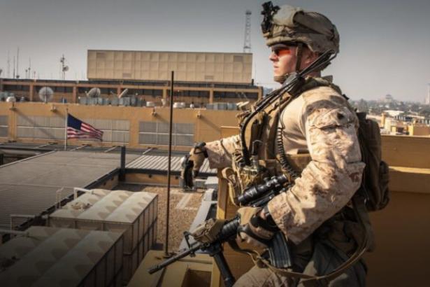 Bağdat'ta ABD Büyükelçiliği yakınlarında patlama sesleri