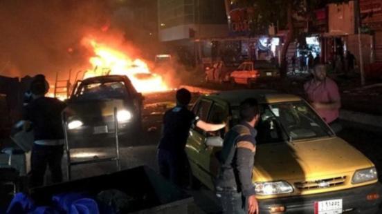 Bağdat'ta gece kulübüne saldırı 6 kişi hayatını kaybetti, 12 yaralı