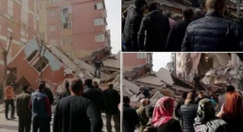 Bahçelievler'de çöken binayla ilgili açıklama: Enkazın altında yaşam belirtisi yok