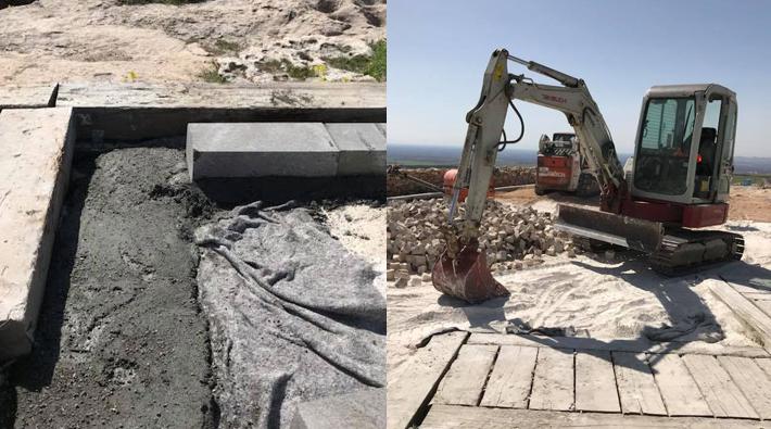 Bakanlıktan beton dökülen tapınak hakkında açıklama