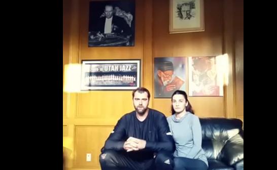Basketbolcu Mehmet Okur ve eşi: 'Hayır' diyoruz