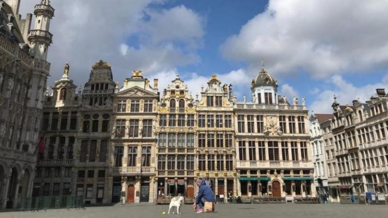 Belçika'da koronavirüs nedeniyle sokağa çıkma yasağı
