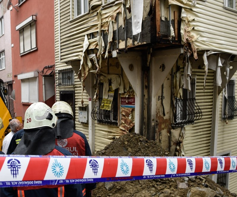 Beşiktaş'ta doğalgaz patlaması