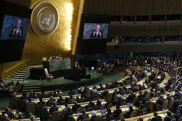 BM, Filistin halkına uluslararası koruma talep eden kararı kabul etti