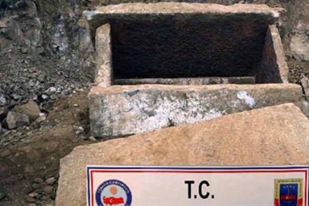 Bolu'da 2 bin yıllık lahit bulundu