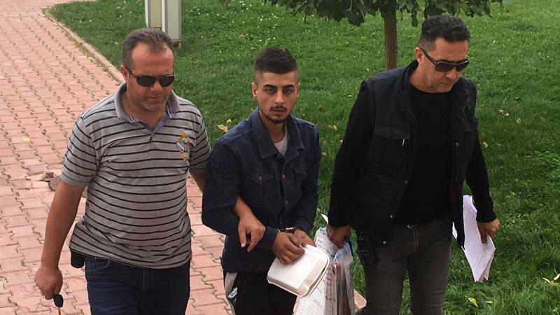 Büfenin borç defterini çalan zanlı tutuklandı