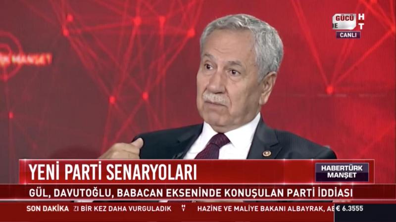 Bülent Arınç: Ahmet Türk'ün terörle alakası yoktur, barış olsun isteyen biridir