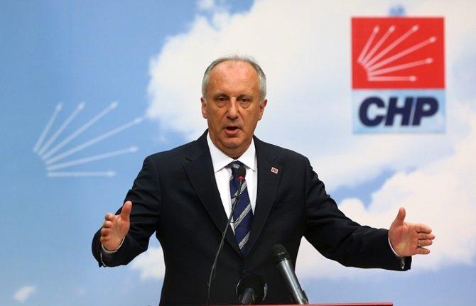 CHP'li Adıgüzel: İnce, Adil Seçim Platformu'nun testine gelmedi