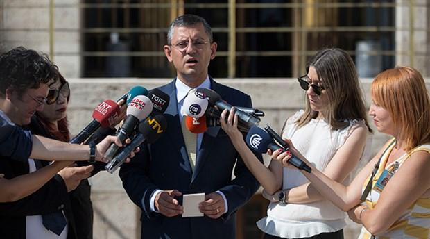 CHP'li Özel: Bu meclisi ne Recep Tayyip Erdoğan kurdu, ne de Recep Tayip Erdoğan kapatabilir