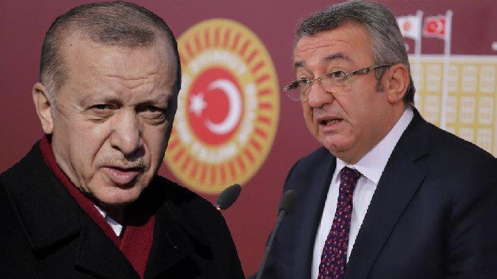 Cumhurbaşkanı Erdoğan, CHP'li Altay hakkında suç duyurusunda bulundu