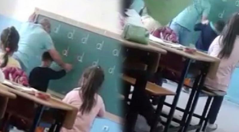 'D' harfini yazamadı diye öğrencisini döven öğretmen gözaltında